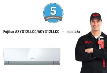 Fujitsu ASYG12LLCC-AOYG12LLCC_akcija